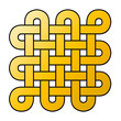 Tibetischer Endlosknoten - Gold