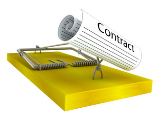 mousetrap with the contract
