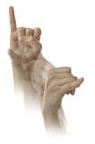 Fototapety Letter J in ASL