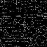 Chemistry formulas poster