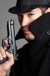 Sneaky Gun Man