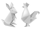 Paper_rabbit_and_rooster