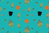 Fairytale pattern poster