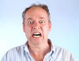Man Enraged About Something poster