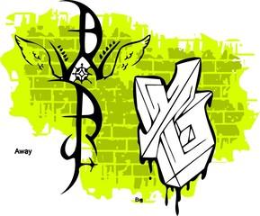 Graffiti -War end Wings.