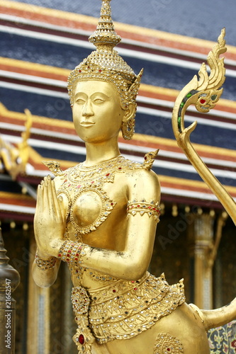 Native Thai Style angel sculpture
