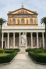 The Papal Basilica of St Paul Outside the Walls