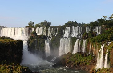 The biggest waterfalls on earth.