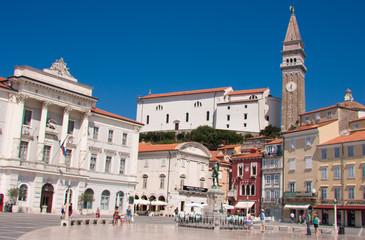Piran old town