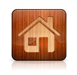 Wooden home button/icon