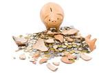 Sad Pig Coin Bank poster