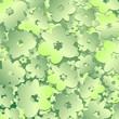roleta: Fiore Verde Sfondo-Vector