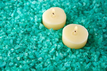Sea-salt and candles