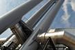 Leinwanddruck Bild - Blockheizkraftwerk Hamburg-Hafencity