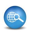 Search Icon - blue