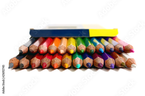 colors pencils