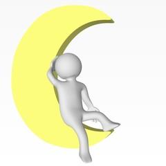 Etre dans la Lune
