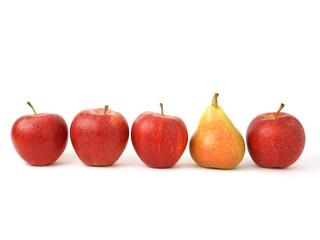 Una pera entre manzanas