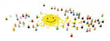 Cartoon Crowd, Smiley Jigsaw