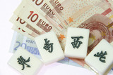 Mah-jong : Chinese ancient game with Euro