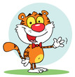 Cartoon Character Animal Tiger