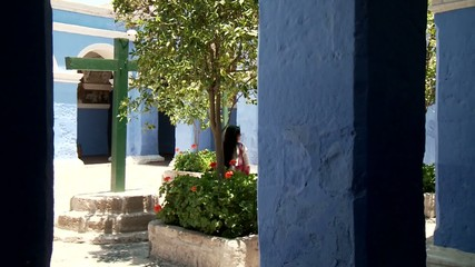 Kloster Innenhof, Santa Catalina, Peru