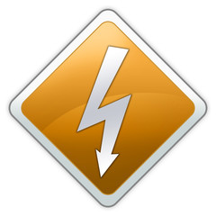 "Advisory Sign ""Electric Shock"""