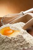 Fototapety ingredients for homemade cake