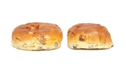raisin bread, also known as dutch krentenbollen