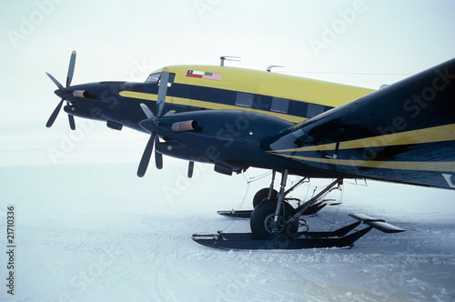 Customized DC-3 in Antarctica
