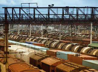Interkontinentalverkehr auf der Transsibirischen Eisenbahn