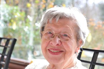 Senior Woman Laughing 15