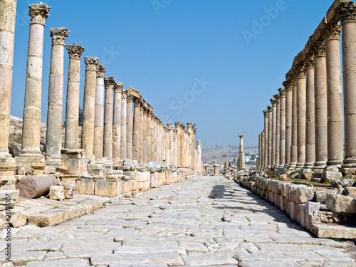 The Forum in Jerash, Jordan.