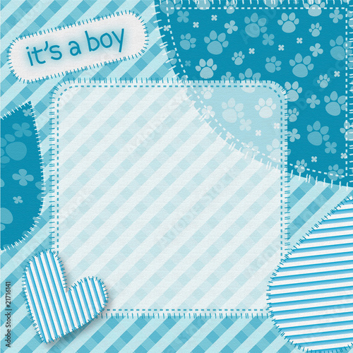 """Fotolip Com Rich Image And Wallpaper: """"it's A Boy Background"""" Stock Image And Royalty-free"""