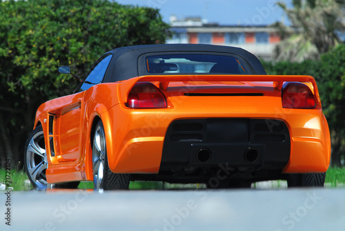Fast cars auto posteriore tuning