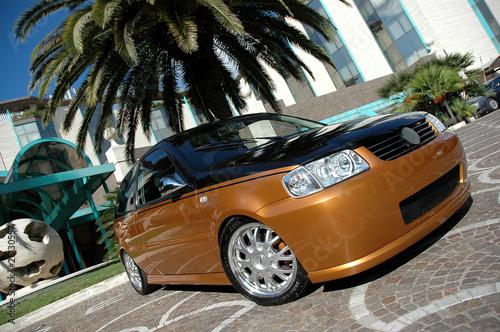 Foto op Canvas Snelle auto s auto