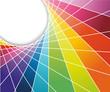 Rainbow cell horizontal background