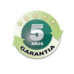 GARANTIA 5 AÑOS