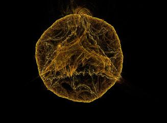 fractal design that looks like the sun