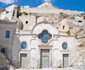 Church of St. Pietro Barisano. Sassi of Matera. Basilicata.