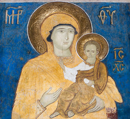 Fresco painting from Arbore Church