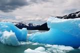 Icebergs en el glaciar