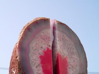 pink quarts crystal