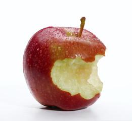 La manzana mordida.