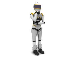 Robot pensieroso