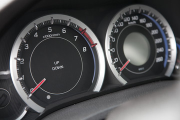Speedmeeter and speedometer