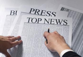 newspaper top news