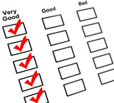 Feedback check boxes