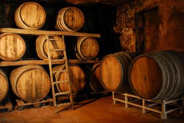 Barriles de fermentación.