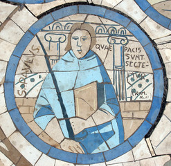 Saint Paul, mosaic, Church on the Mount of Beatitudes